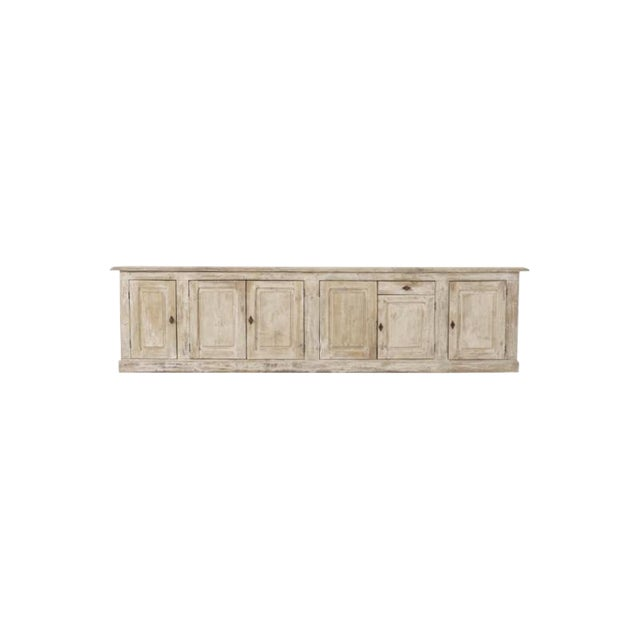 19th Century French Provençal Louis Philippe Style Enfilade in Original Patina For Sale