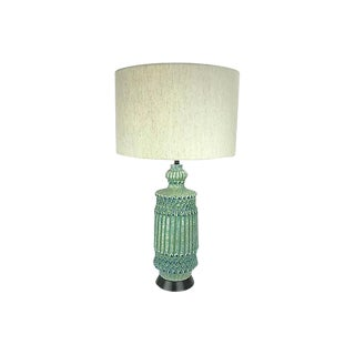 Mid-Century Regency Trellis Lamp