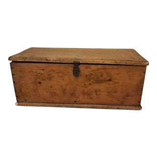 Rustic Pine Tool Box For Sale