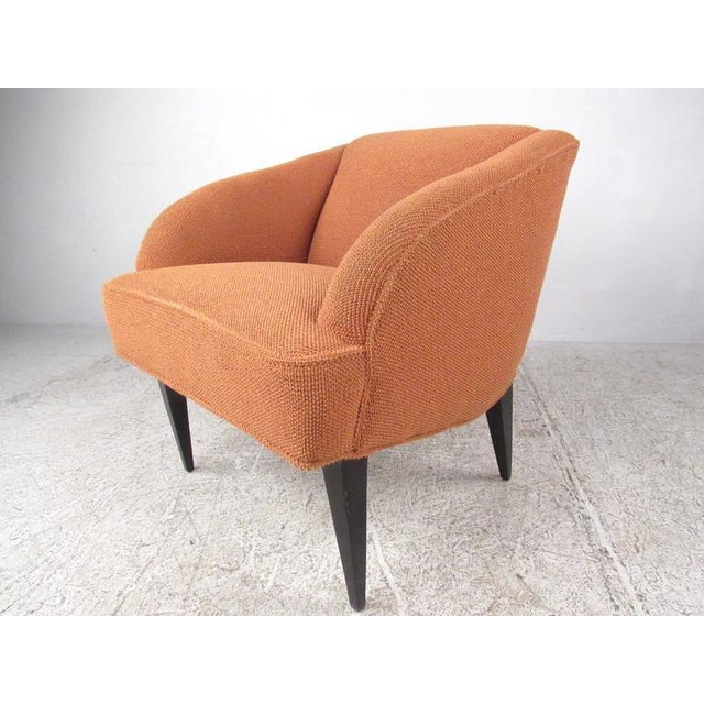 Mid-Century Modern Vintage Modern Club Chairs - a Pair For Sale - Image 3 of 7