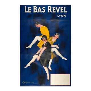 Original Large Le Bas Revel Vintage Poster Cappiello France c. 1929 For Sale