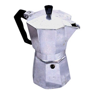 Modernist Silver Coffee Maker For Sale