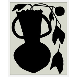 "Medium ""Unusual Vase Four Tan"" Print by Kate Roebuck, 24"" X 30"" For Sale"