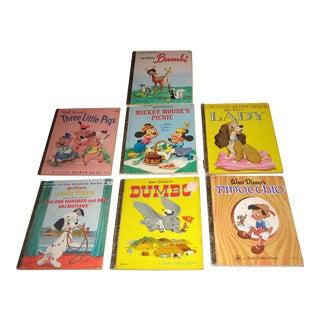 Vintage Walt Disney Little Golden Books - Set of 7 For Sale