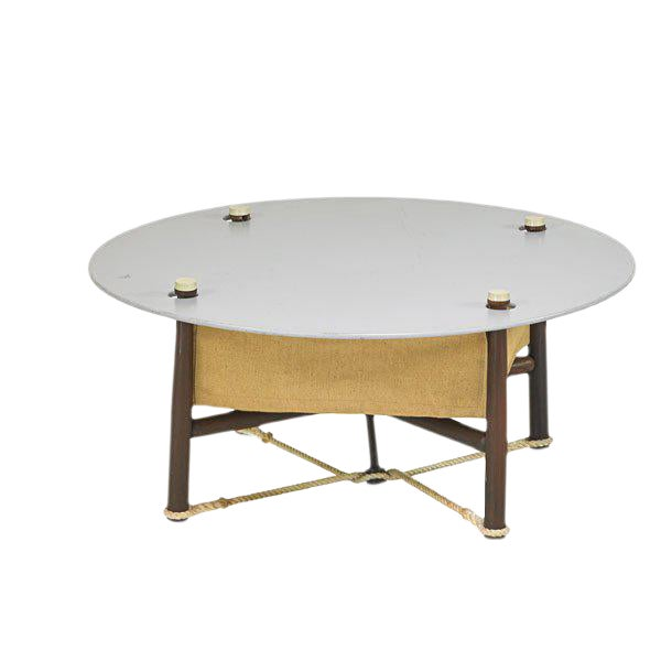 Erik Magnussen Danish Mid-Century Campaign Table - Image 1 of 4
