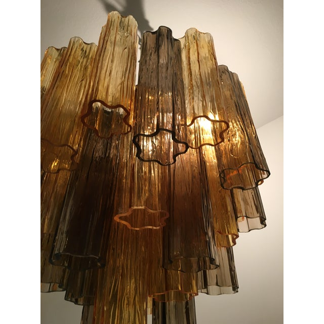 """2010s Contemporary Murano Glass """"Tronchi"""" Chandelier For Sale - Image 5 of 12"""