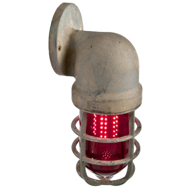 Crouse-Hinds Explosion Proof Factory Sconce - Red - Image 3 of 4
