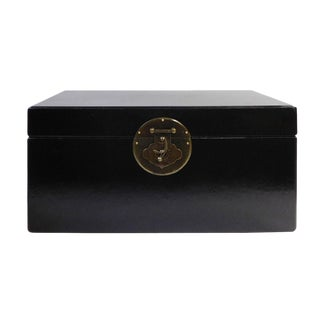 Chinese Black Rectangular Container Box For Sale