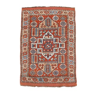 Western Anatolian Bergama Rug - 5′1″ × 7′ For Sale