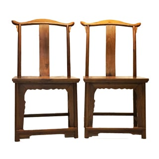 "Chinese High Officials Hat Pair of Chairs 42.5"" H Preview"