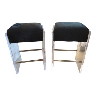 Modern Lee Industries Bar Stools- A Pair For Sale