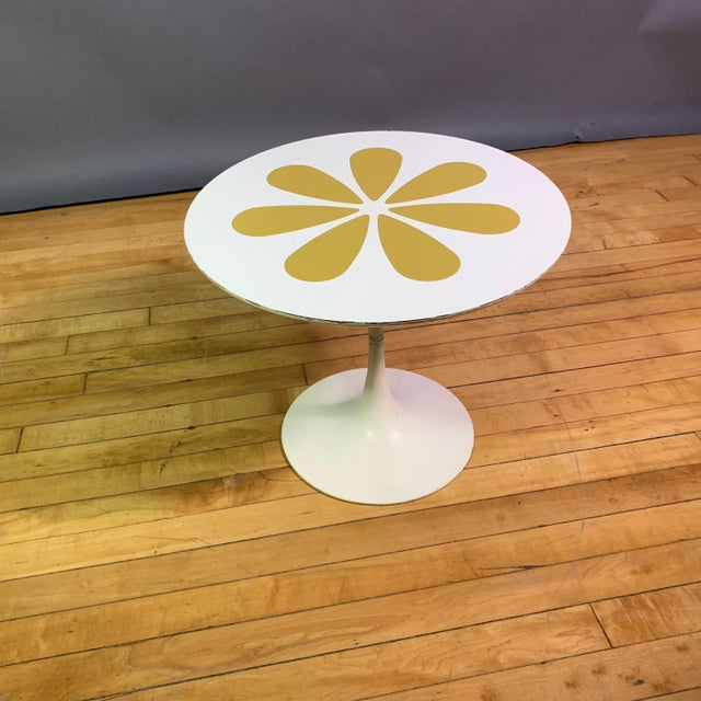 1960s Howard McNab & Don Savage Tulip Side Table, Usa 1961 For Sale - Image 5 of 9