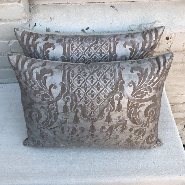 Fortuny Pillows- A Pair - Image 4 of 6