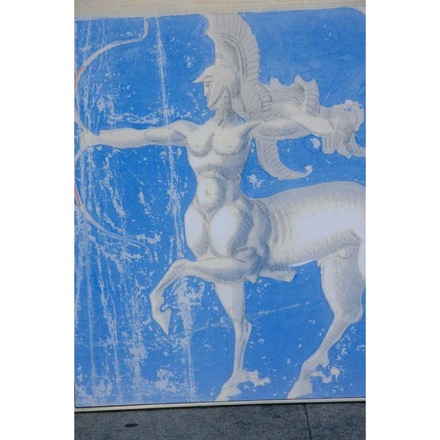 Canvas Large William Haines Canvases Drawing For Sale - Image 7 of 10