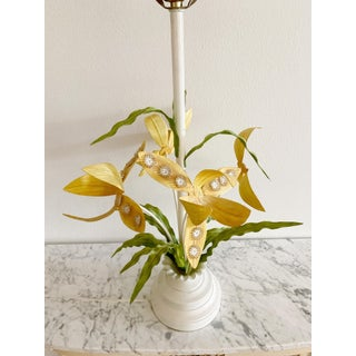 Regency Italian Tole Floral Table Lamp Preview