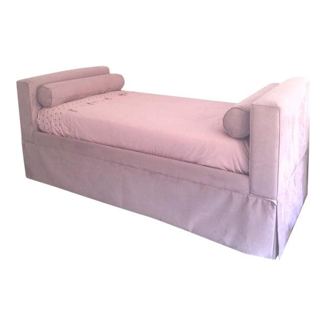 Ballard Designs Custom Upholstered Trundle Bed - Image 1 of 5