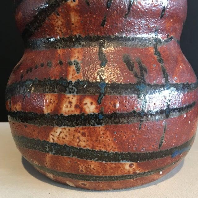 Stunning Signed Studio Glazed Pottery Vase - Image 4 of 7