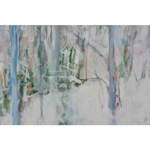 "Stephen Remick ""The Morning After the Snowstorm"", Contemporary Landscape Painting by Stephen Remick. For Sale - Image 4 of 12"