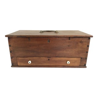 19th Century Sewing Box For Sale