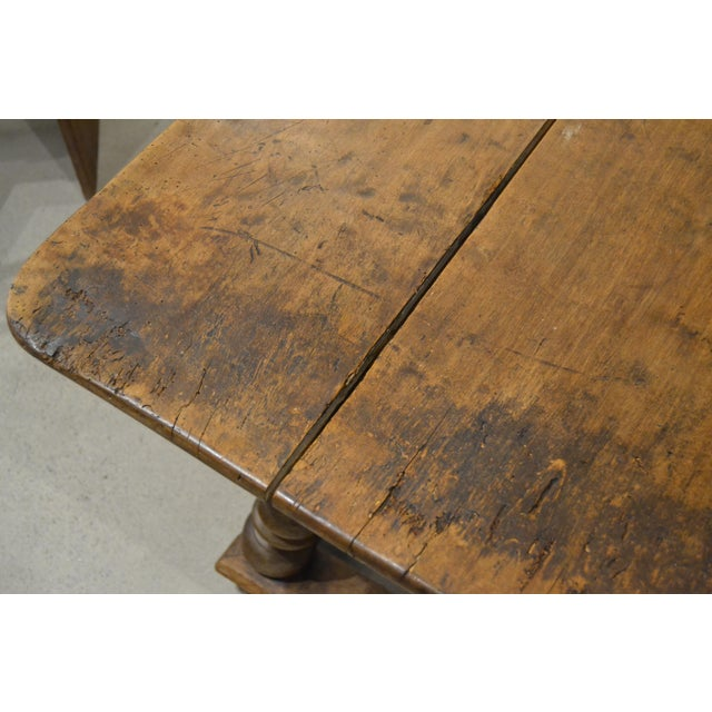 """Antique """"Table D'Echangeur"""" For Sale - Image 9 of 13"""