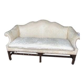 1980s Vintage Henredon Natchez Chippendale Sofa For Sale
