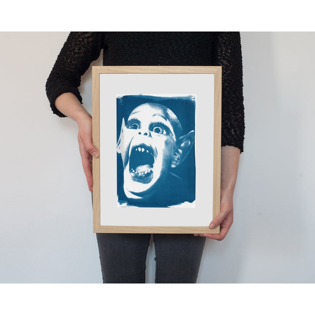Limited Edition Cyanotype Print- Bat Boy - Image 2 of 4