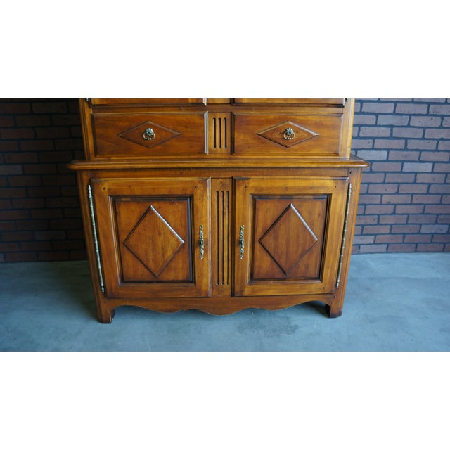 20th Century French Country Armoire For Sale - Image 6 of 11
