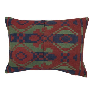 Southwestern Style Wool Blanket Pillow For Sale