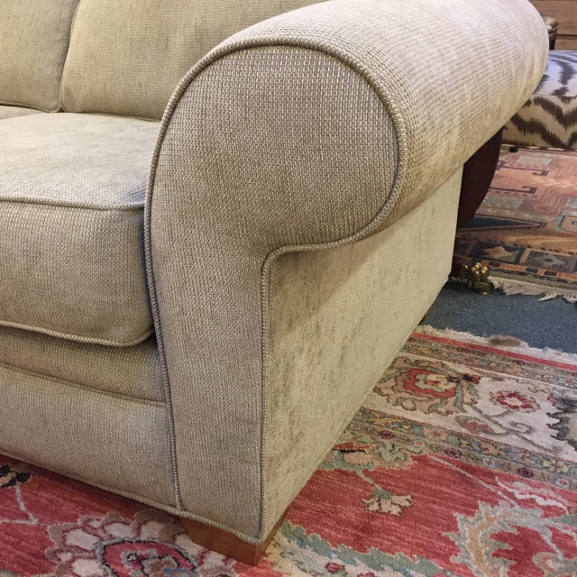 Textured Sage Love Seat - Image 4 of 9