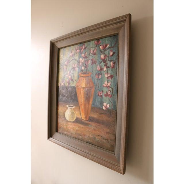 Vintage Framed Still Life Painting - Image 5 of 5
