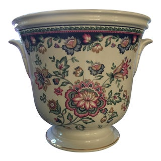 1990's Vintage Porcelain Cache Pot For Sale
