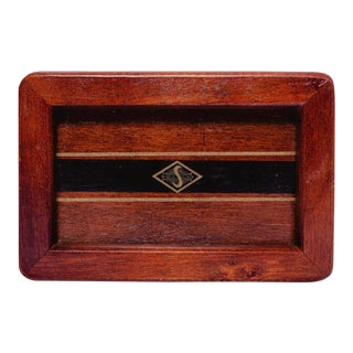 Wood Catch All Men's Tray For Sale