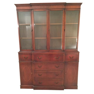 Union National Fine Furniture Co. Mahogany Secretary Cabinet