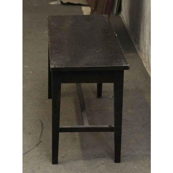 Black Ebonized Piano Bench - Image 4 of 4