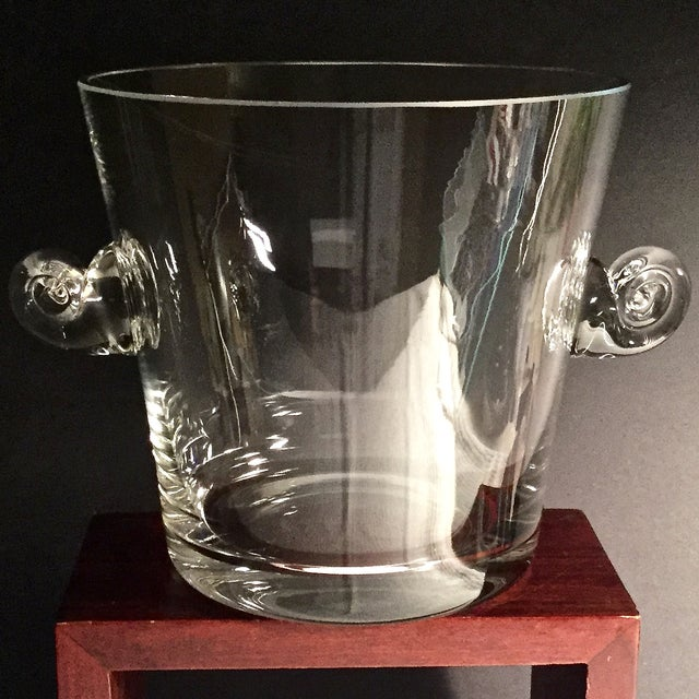 Tiffany & Co. Scroll Handled Champagne Chiller - Image 5 of 6