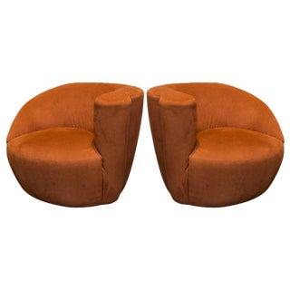 Set of Vladimir Kagan Nautilus Chairs