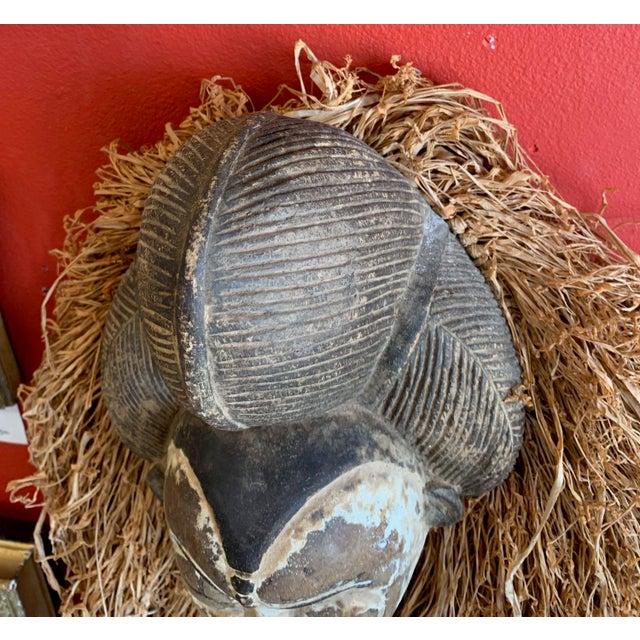Wood West African Punu Mukadj Spirit Mask For Sale - Image 7 of 10