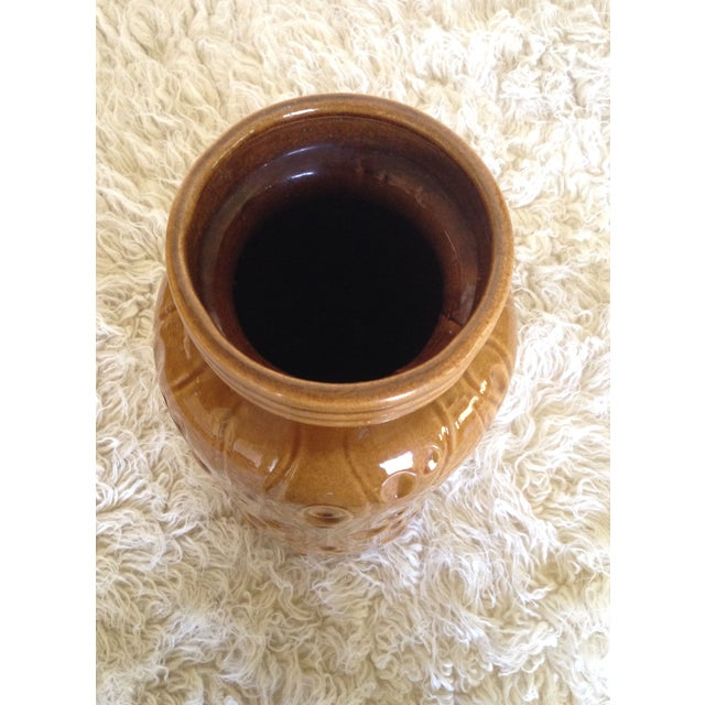 Large Pottery Floor Vase by Scheurich Keramik For Sale - Image 4 of 6