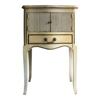 Vintage French Provincial NIghtstand Shabby Chic Side Table For Sale