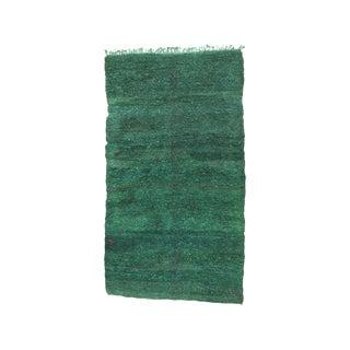 Large Green Beni Mguild Carpet (Dk-106-55) For Sale