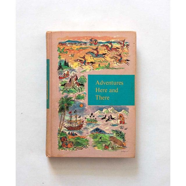 Pink 1958 Vintage Children's Fiction Book For Sale - Image 8 of 8