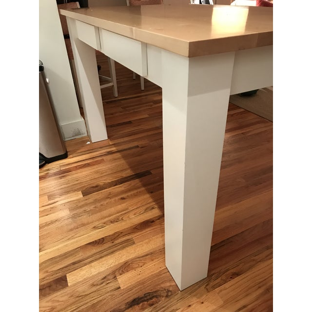 Custom Maple Island Table - Image 7 of 7
