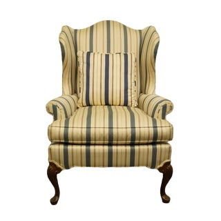 Late 20th Century Vintage Pennsylvania House Advantage Wingback Chair For Sale