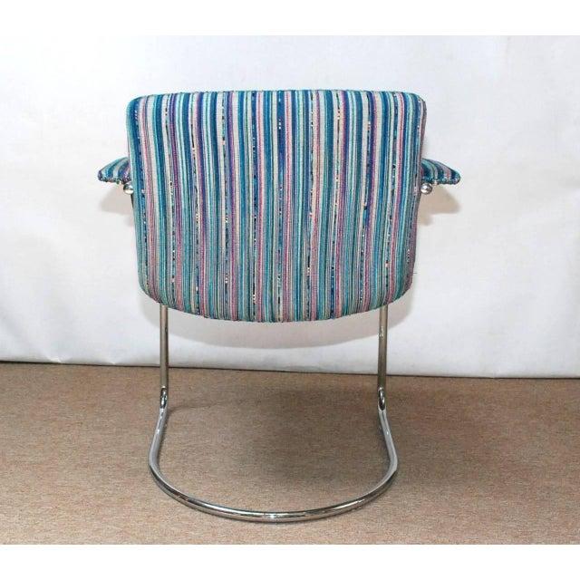 Saporiti Italia Set of Four Italian Mid-Century Chairs by Saporiti Italia For Sale - Image 4 of 7