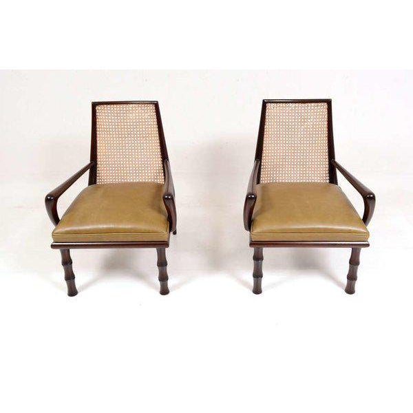 Mexican Modernist Lounge Chairs Attributed to Eugenio Escudero For Sale - Image 4 of 9