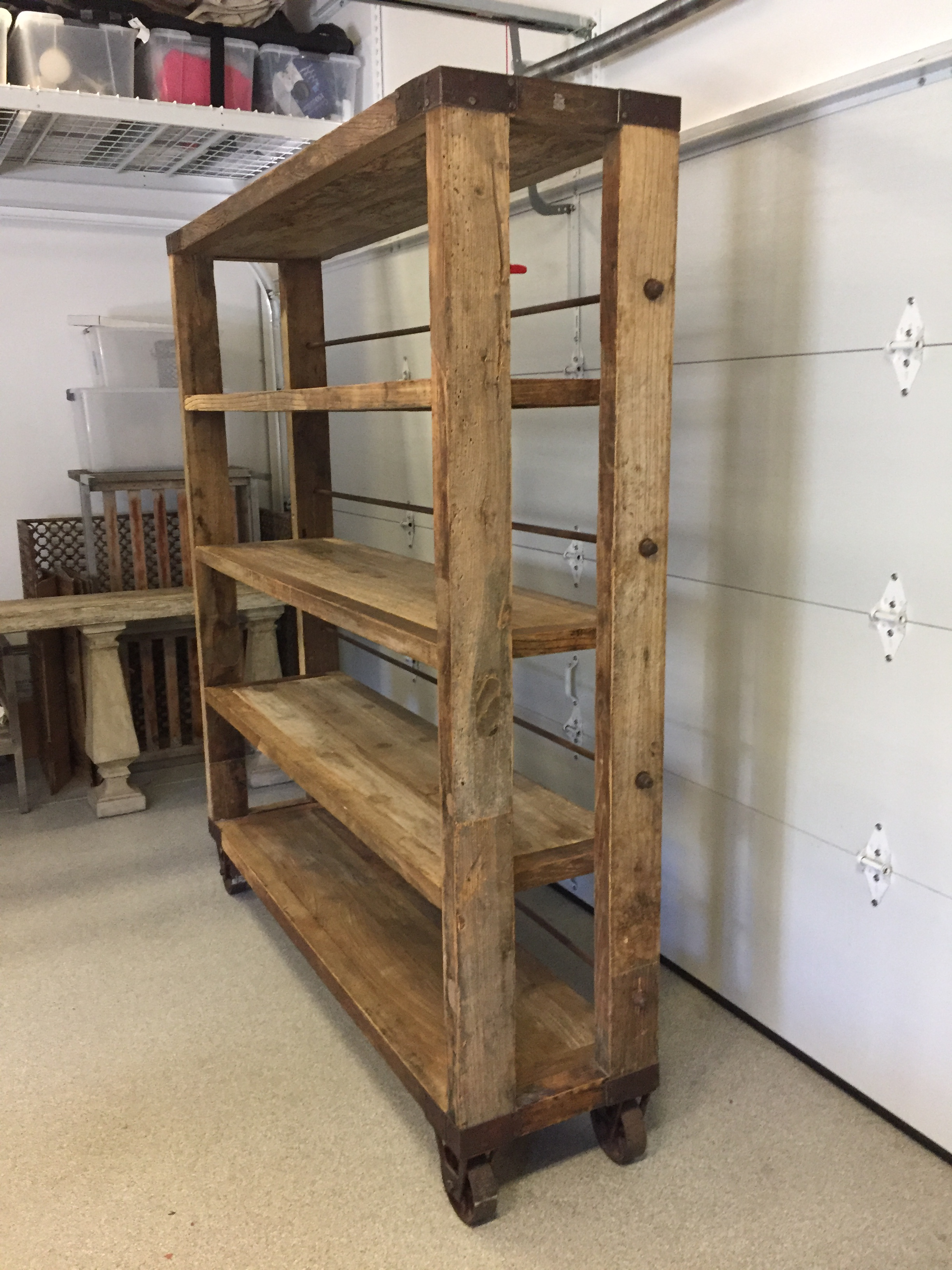 Industrial Industrial Bakers Rack For Sale   Image 3 Of 4