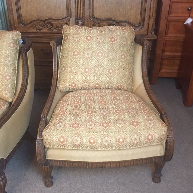 Pair of Century Occasional Chairs - Image 7 of 11