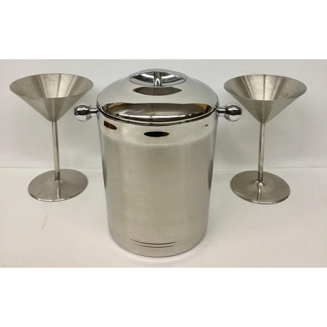 1960s Vintage Stainless Copco Martini Set - 3 Pieces For Sale - Image 11 of 11
