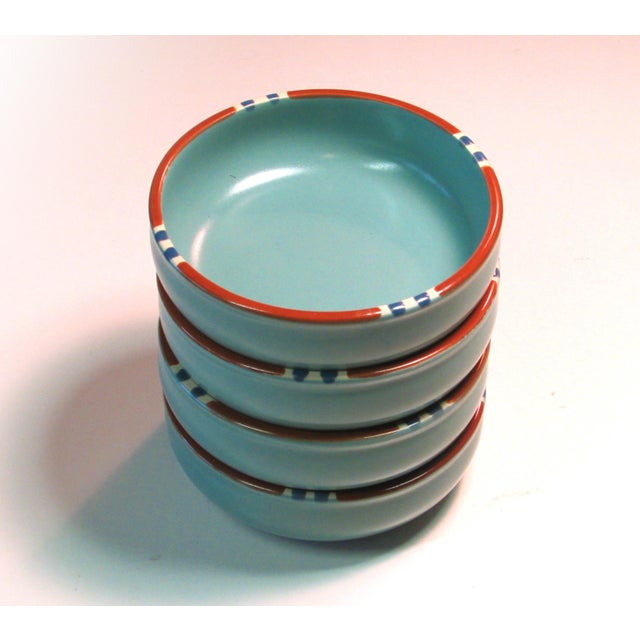 Turquoise Dansk Mesa Dishes, Cream & Sugar, and Platter - Set of 4 - Image 5 of 6