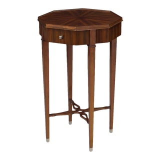 Scarborough House Octagon Occasional Table For Sale